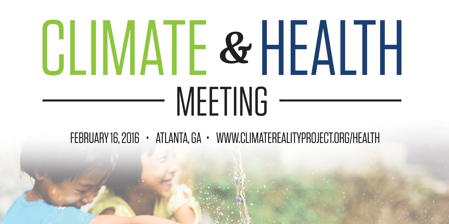 Climate and Health Meeting