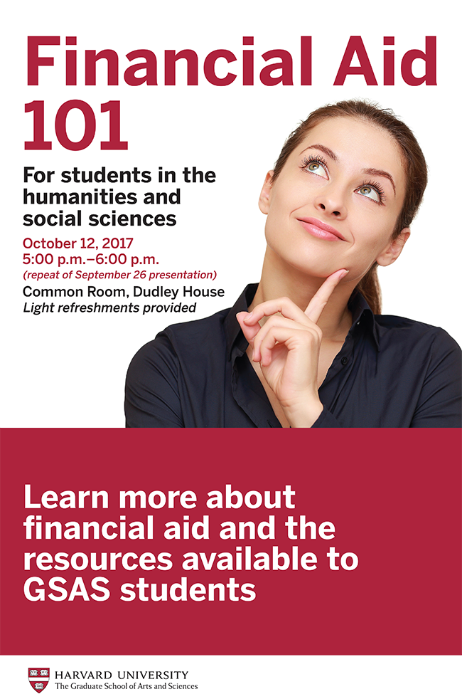 Financial Aid 101 poster