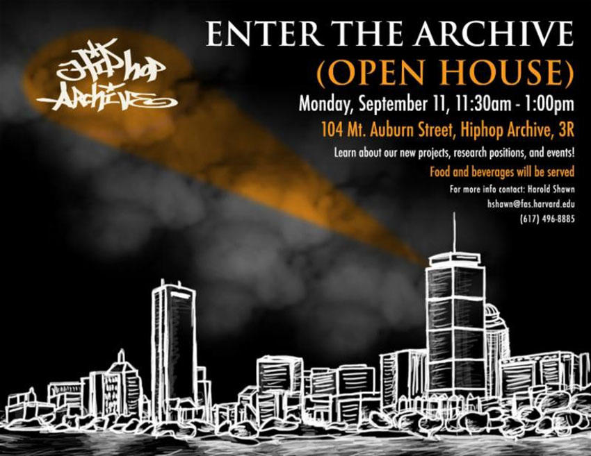 Hiphop Archive Open House Picture