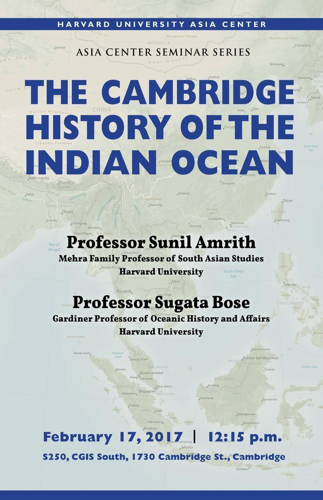 Cambridge History of the Indian Ocean