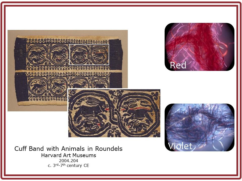 Cuff Band with Animals in Roundels