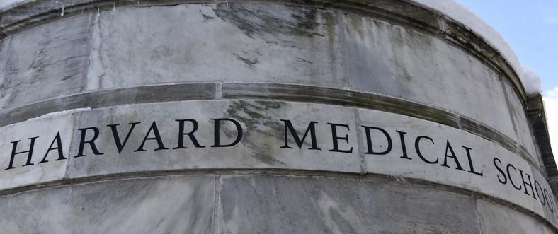 Harvard Medical School marble facade