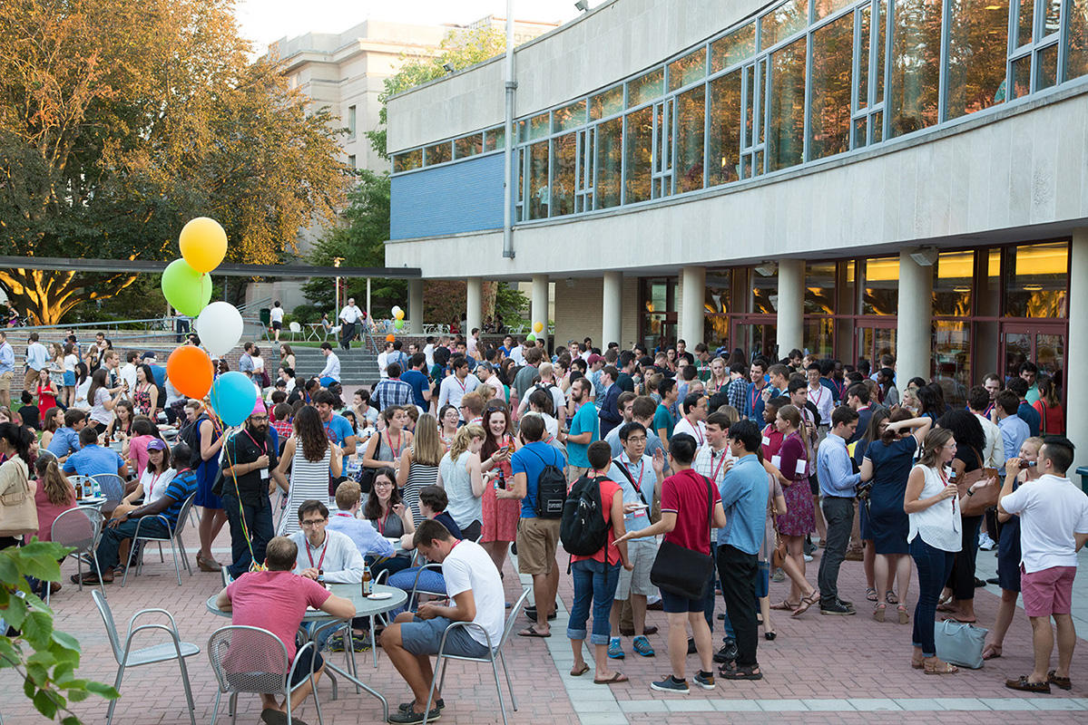 Harvard Law School Orientation Party on Jarvis Field, 2016