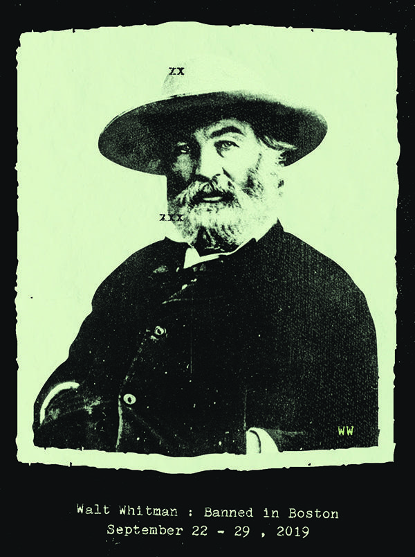 Half-length view of Walt Whitman by Matthew Brady
