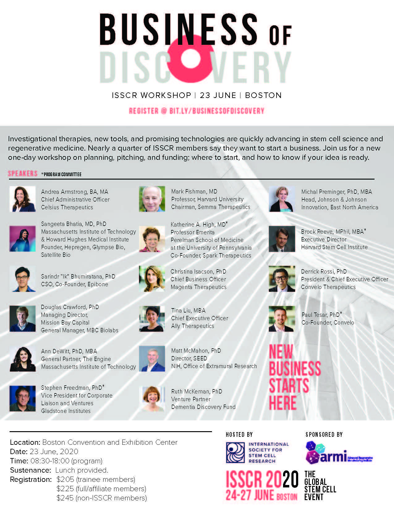 Business of Discovery flyer image
