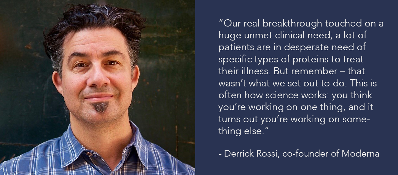 Derrick Rossi quote and photo