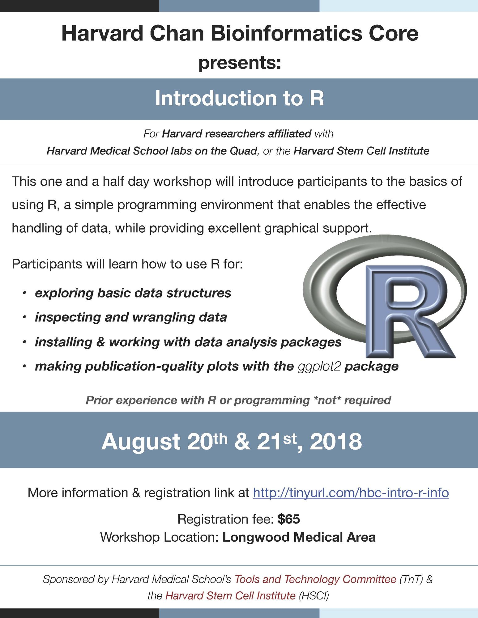 R Course announcement image