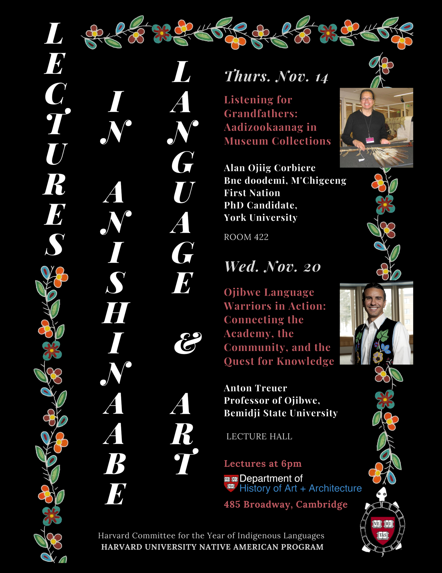 Lectures in Anishinaabe Language and Art