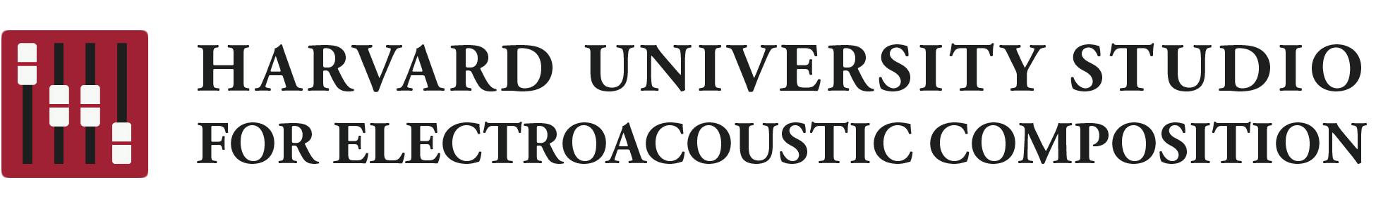 Harvard University Studio for Electroacoustic Composition Logo