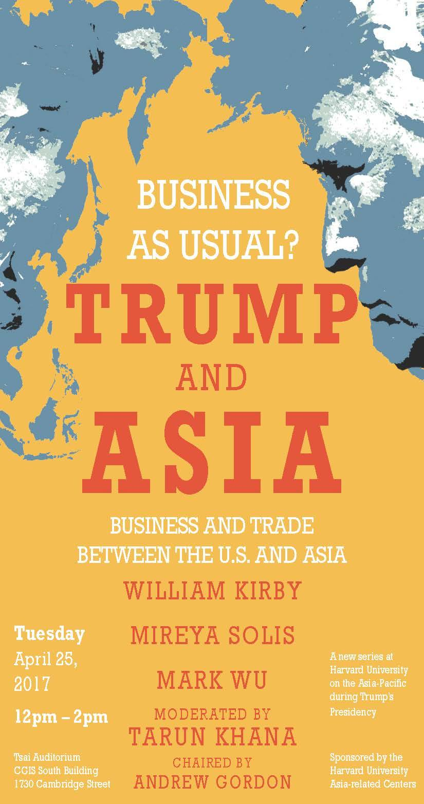 Trump and Asia Business as Usual