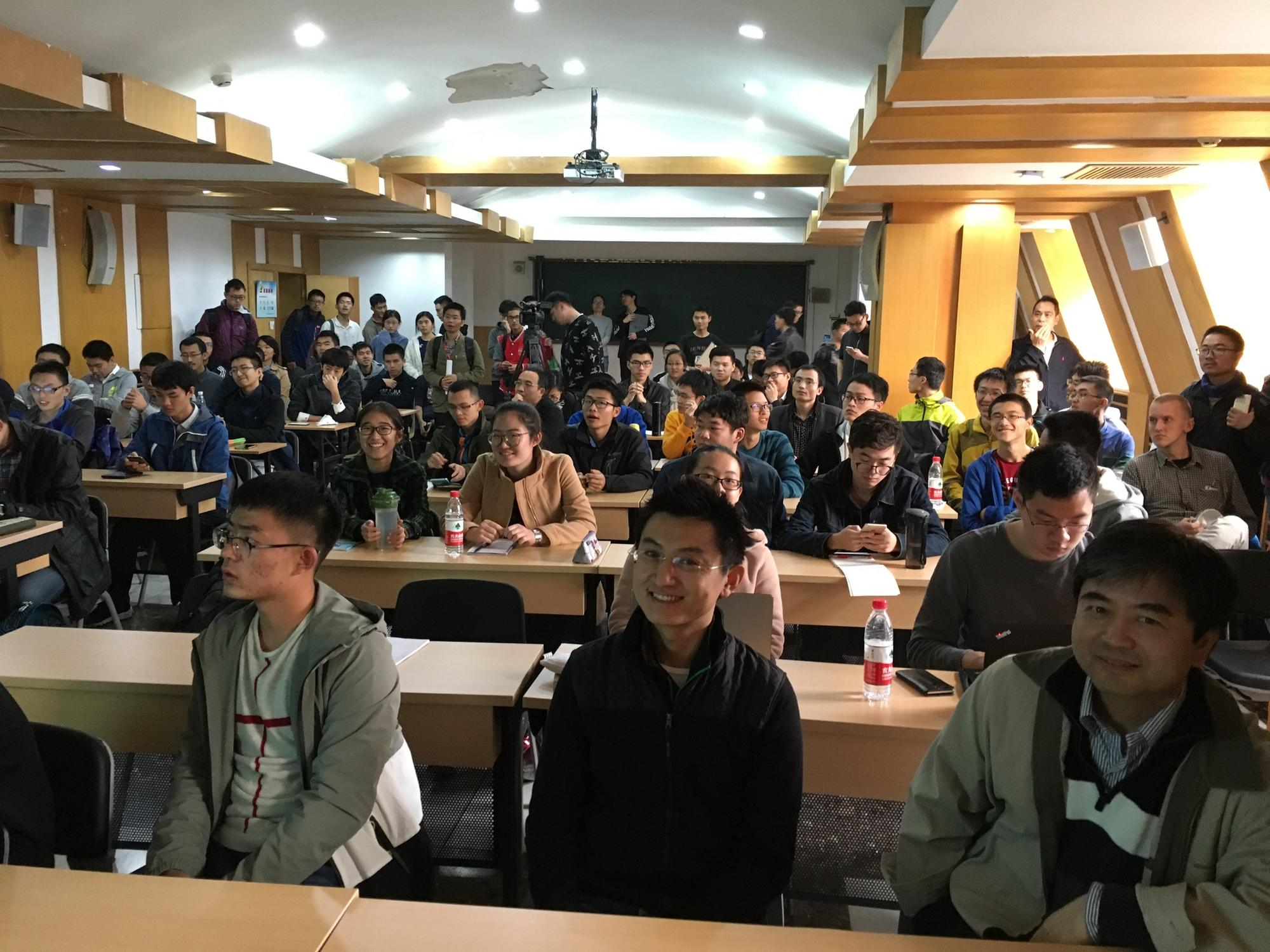 Arthur Jaffe talks at Peking University