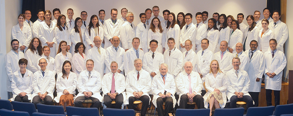 Harvard otolaryngology faculty group photo