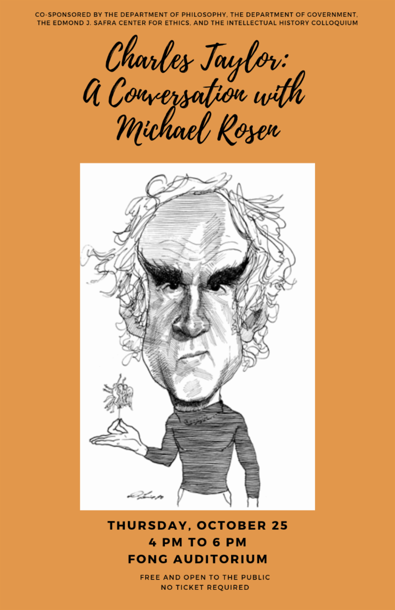 charles taylor: a conversation with michael rosen