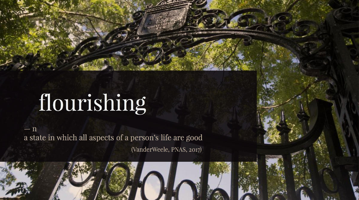 About us gate flourishing definition
