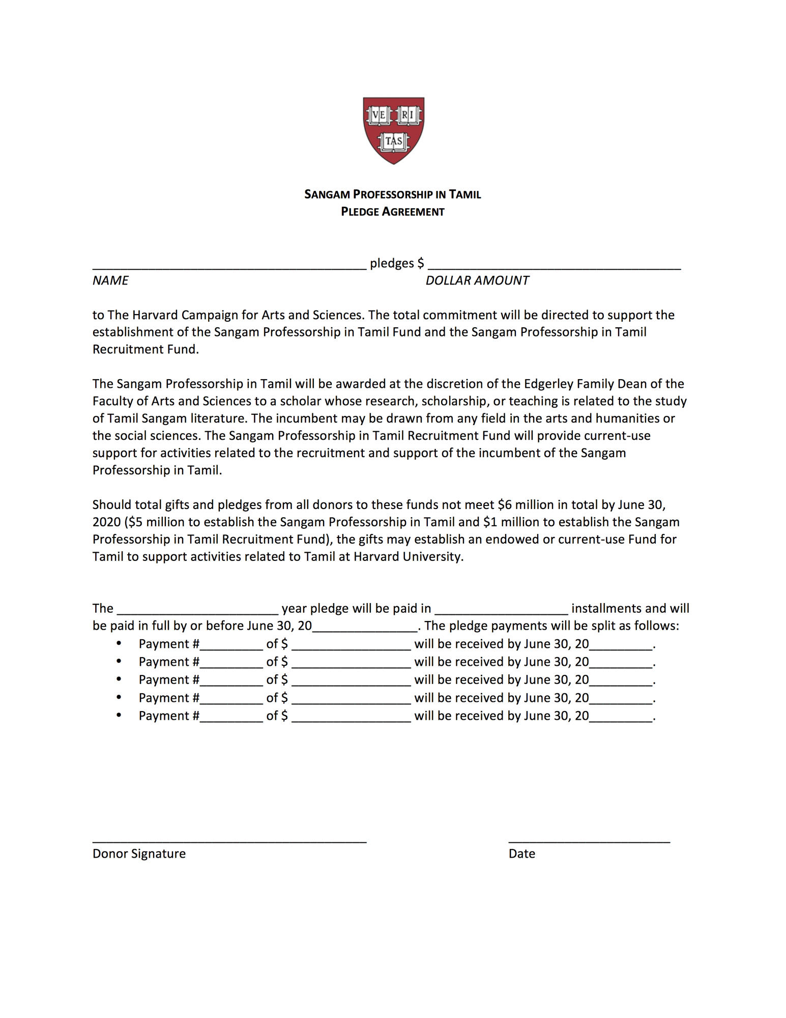 Pledge Agreement (please download and print this document)