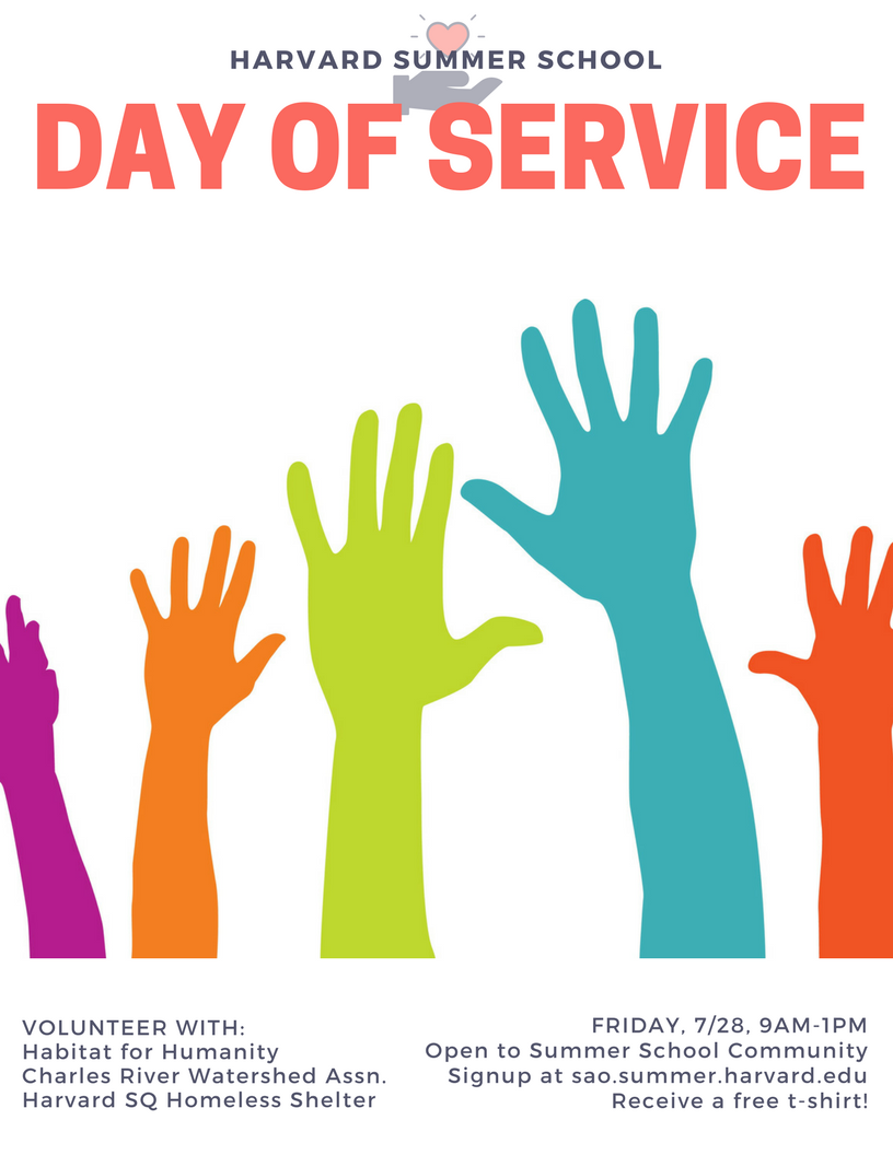 day of service flyer