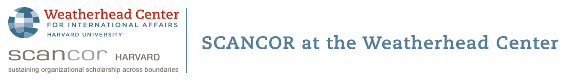 Logo for SCANCOR at the Weatherhead Center