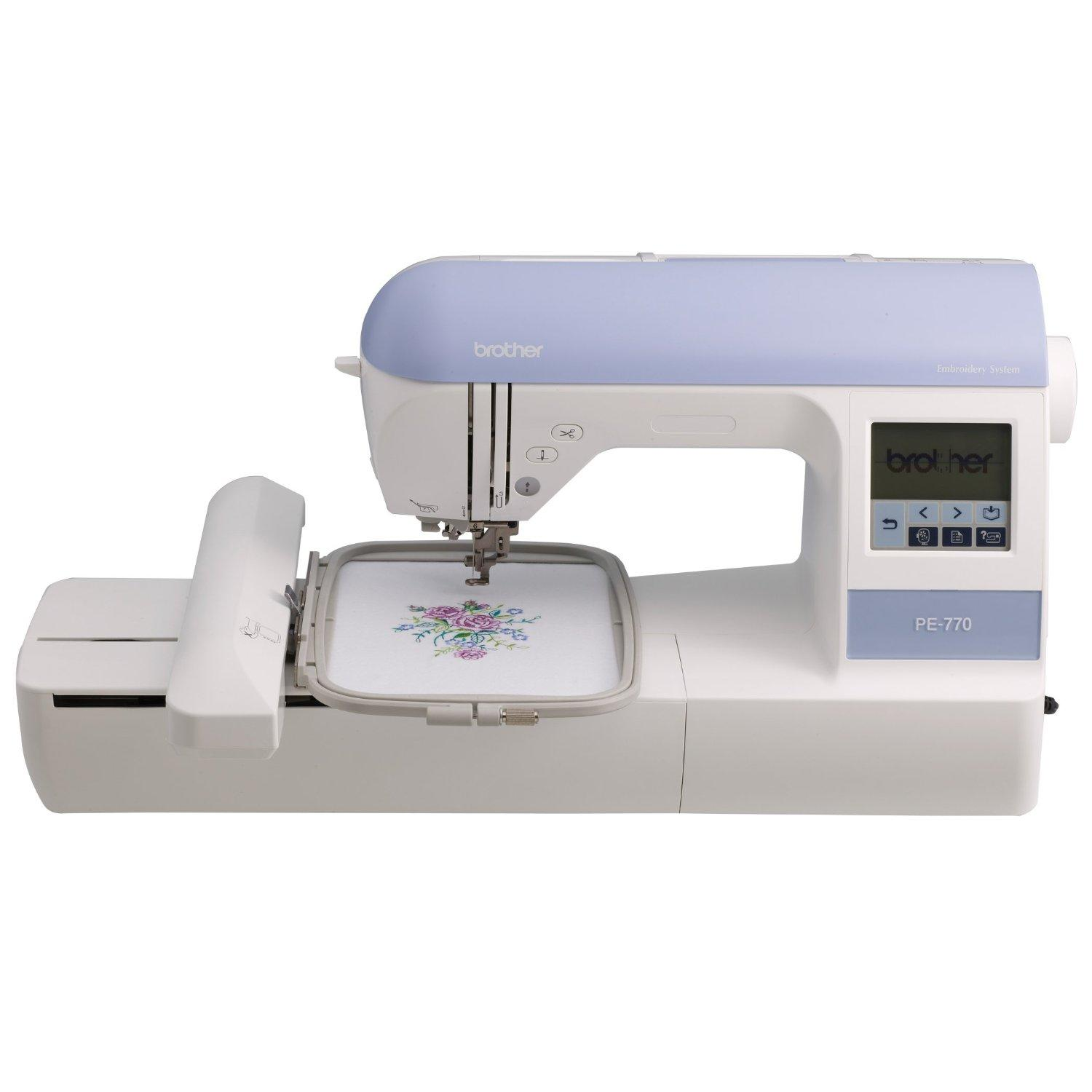 PE-770 embroidery machine