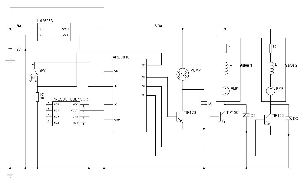 Schematic Wiring | Soft Robotics Toolkit