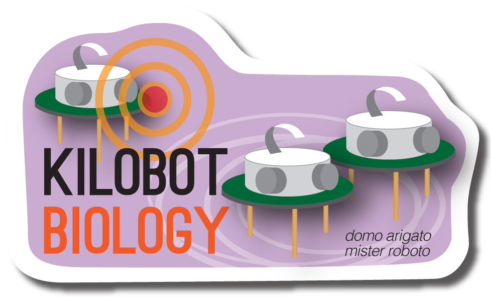 Kilobot Biology Sticker