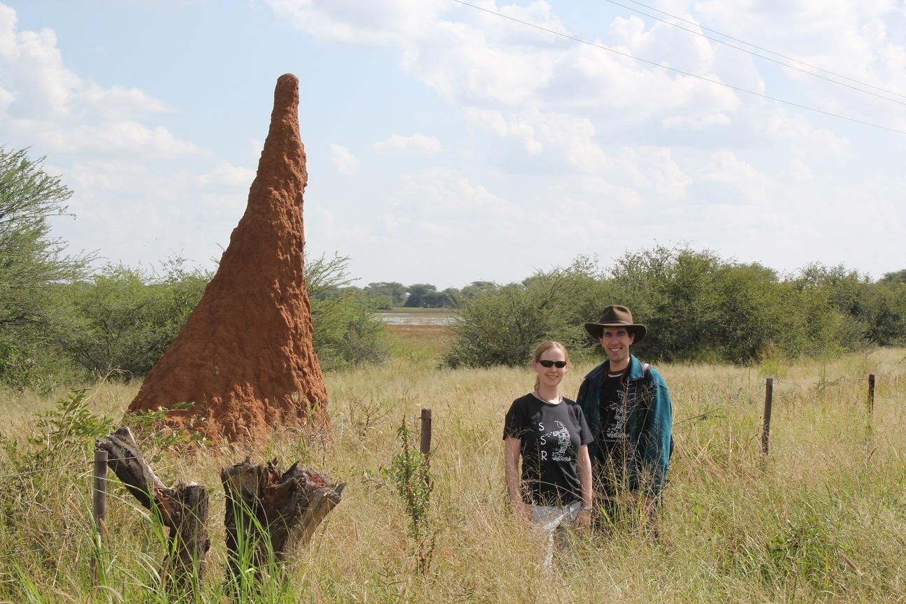 Namibia 2011, Kirstin and Justin
