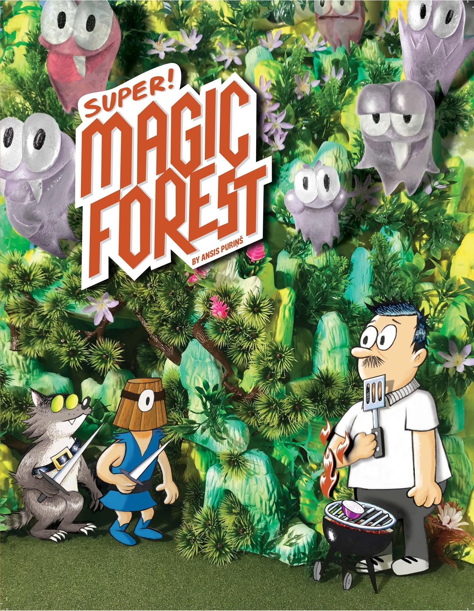 Image of the cover of the Super Magic Forest by Ansis Purins