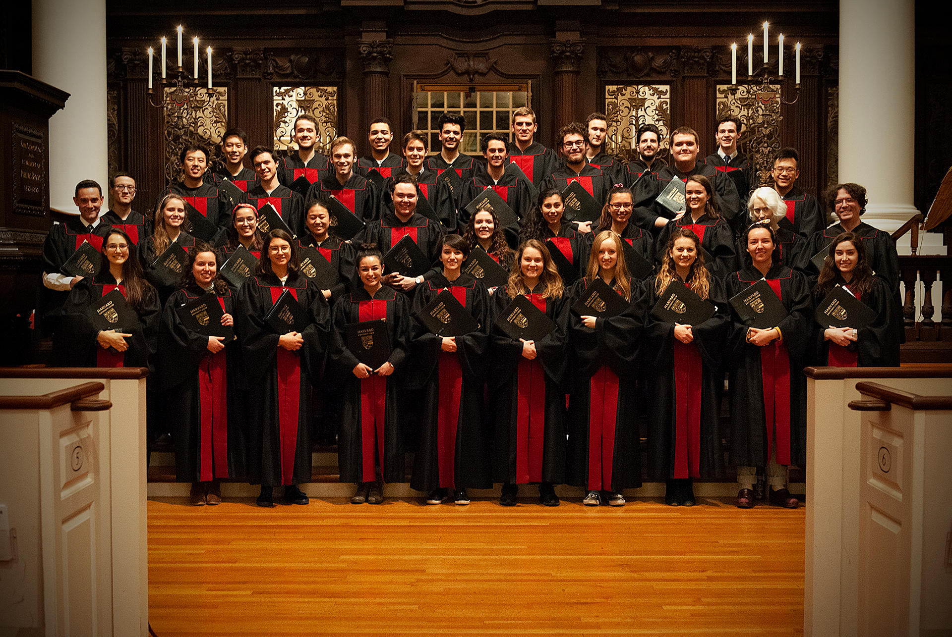 Harvard University Choir 2018-19