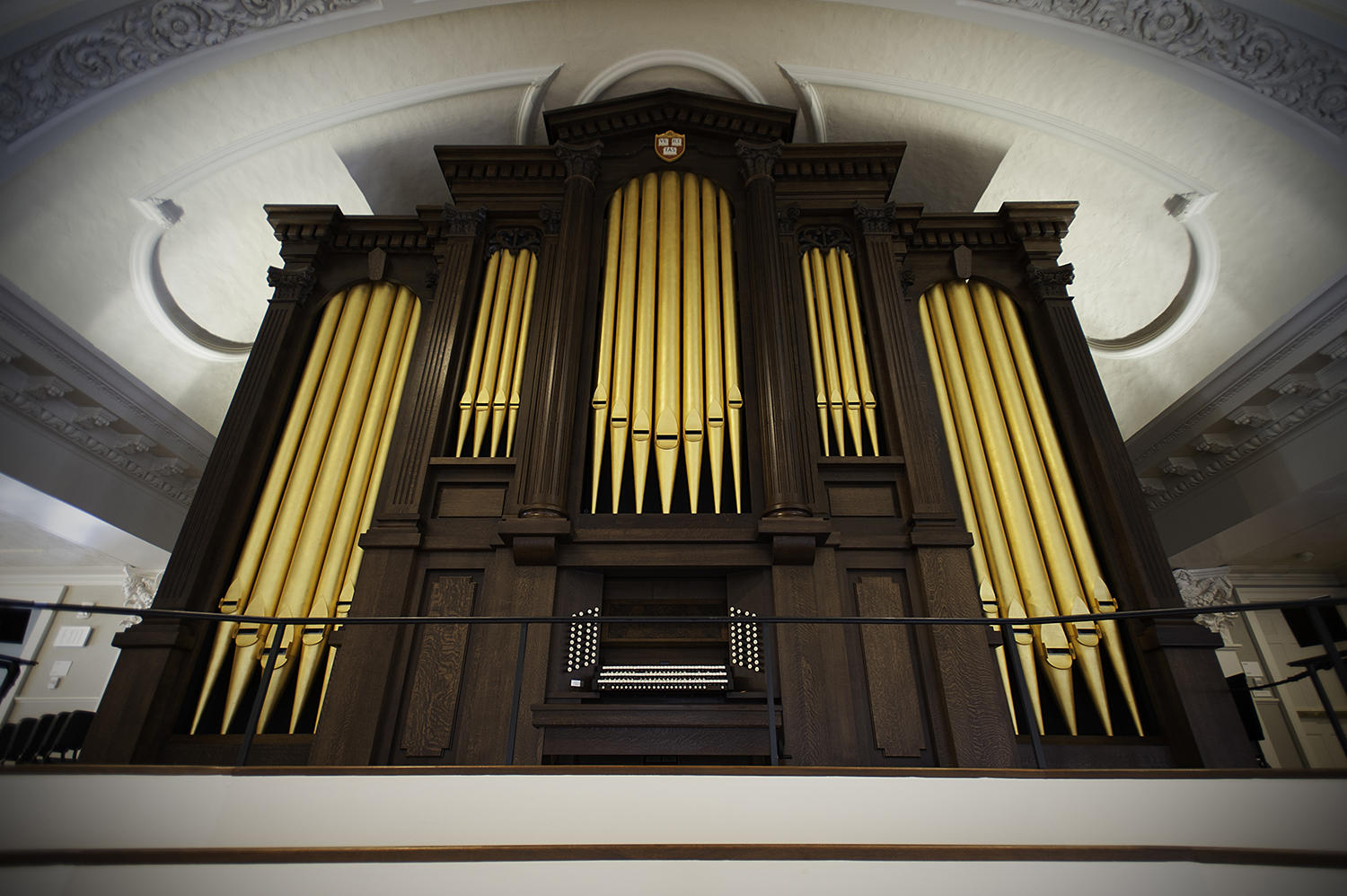 The Charles B. Fisk & Peter J. Gomes Memorial Organ