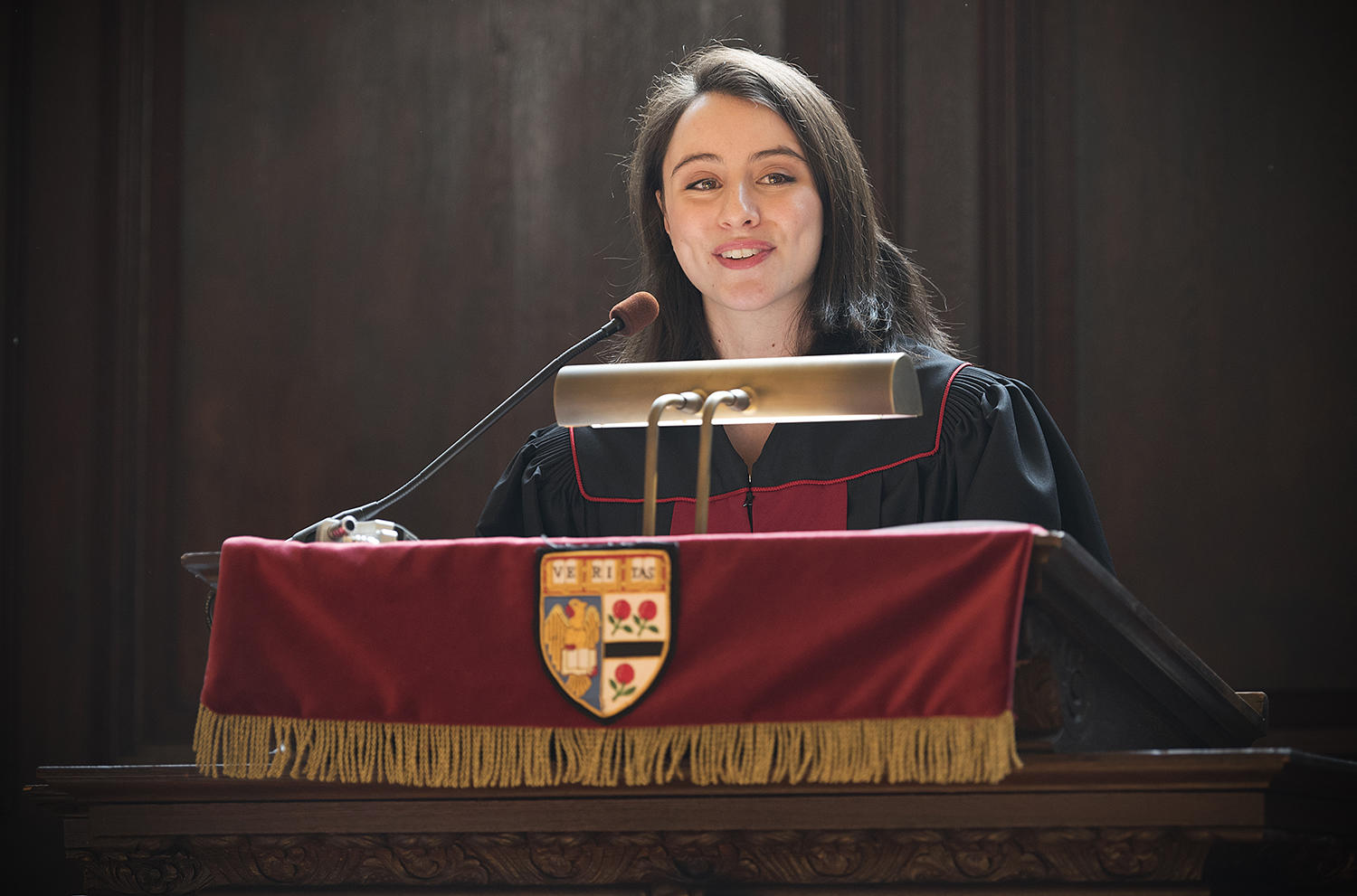 Morning Prayers service with speaker Cara Jacobson '18, Harvard College, Harvard University Choir Secretary, May 2, 2018.
