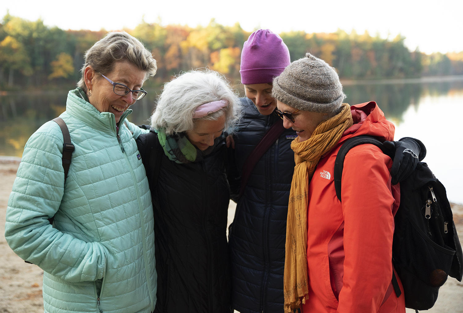Memorial Church congregants and Harvard students take a pilgrimage to Walden Pond