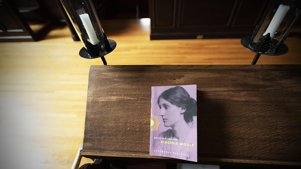 "New book ""Religion Around Virginia Woolf"" by Stephanie Paulsell"