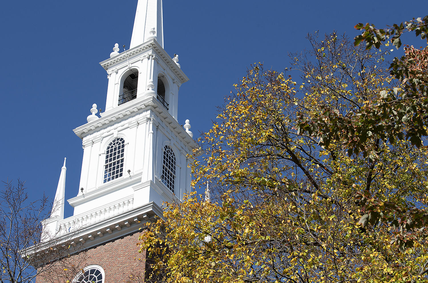 Memorial Church Steeple Fall