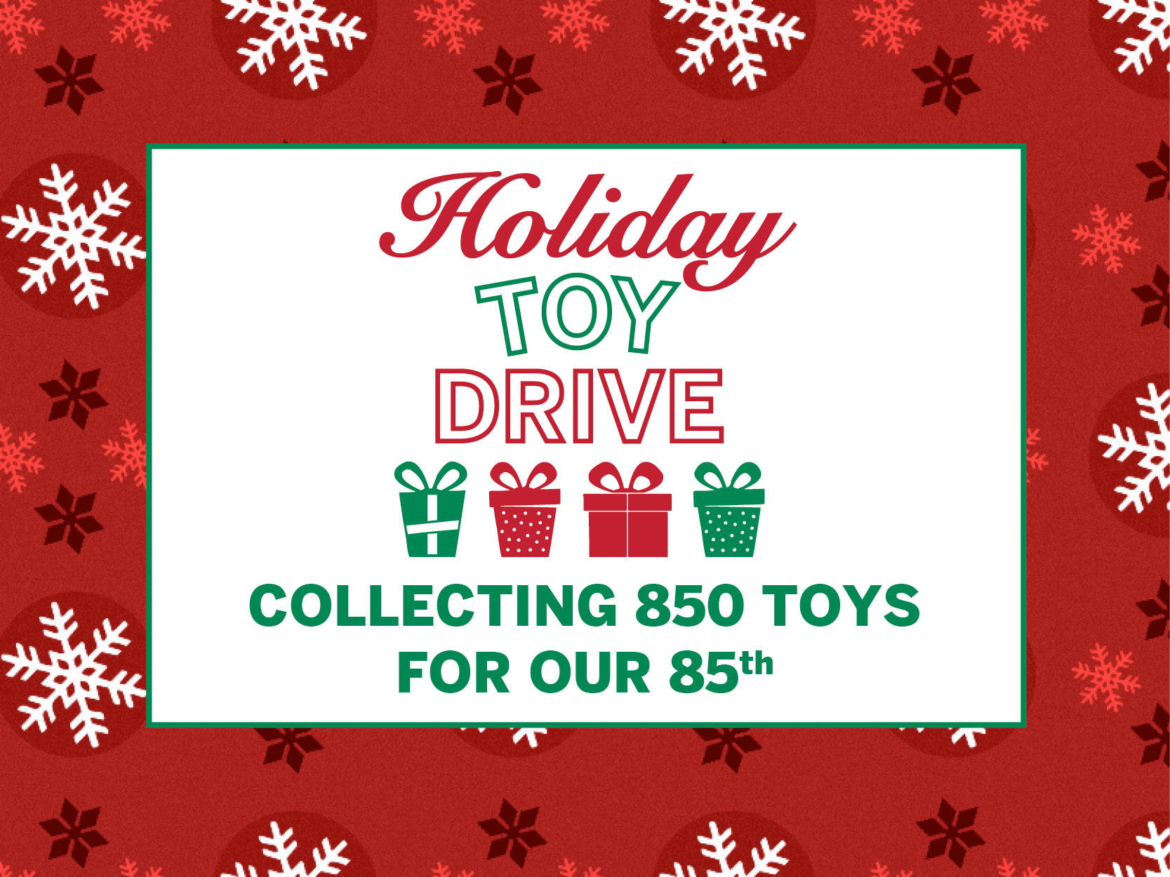 2017 Holiday Gift Drive
