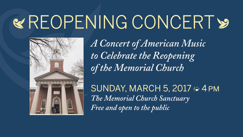 Reopening Concert