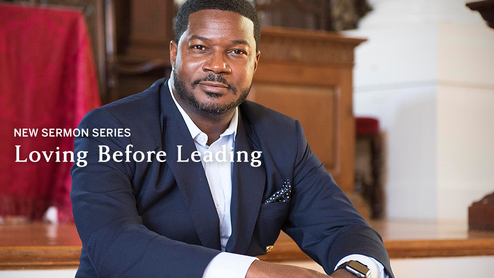 Jonathan L. Walton: New Sermon Series - Loving Before Leading