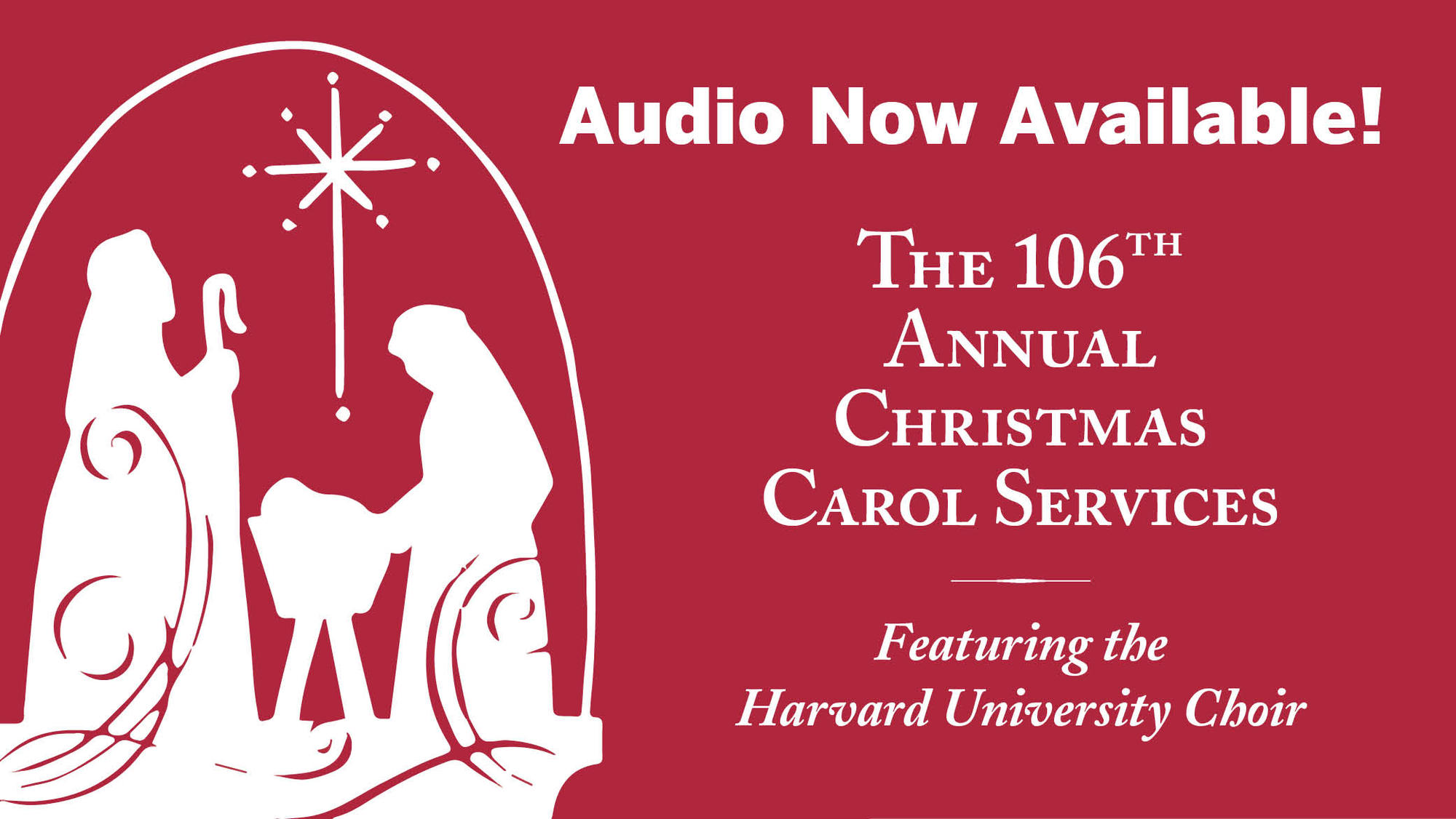 Audio of Last Year's Carol Service