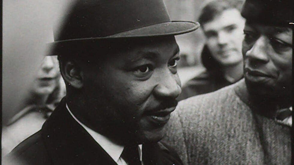 The Rev. Martin Luther King Jr. at Memorial Church