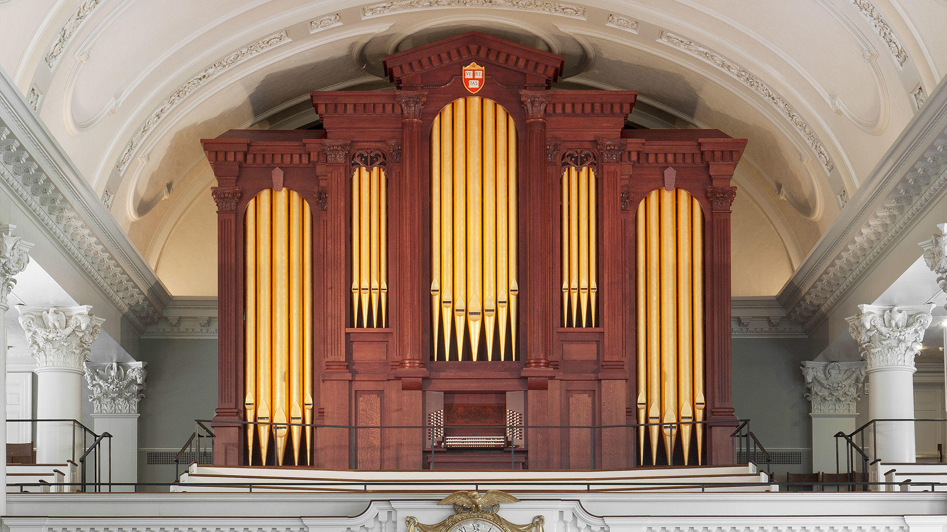 CB Fisk Organ, Op.139 in the Memorial Church