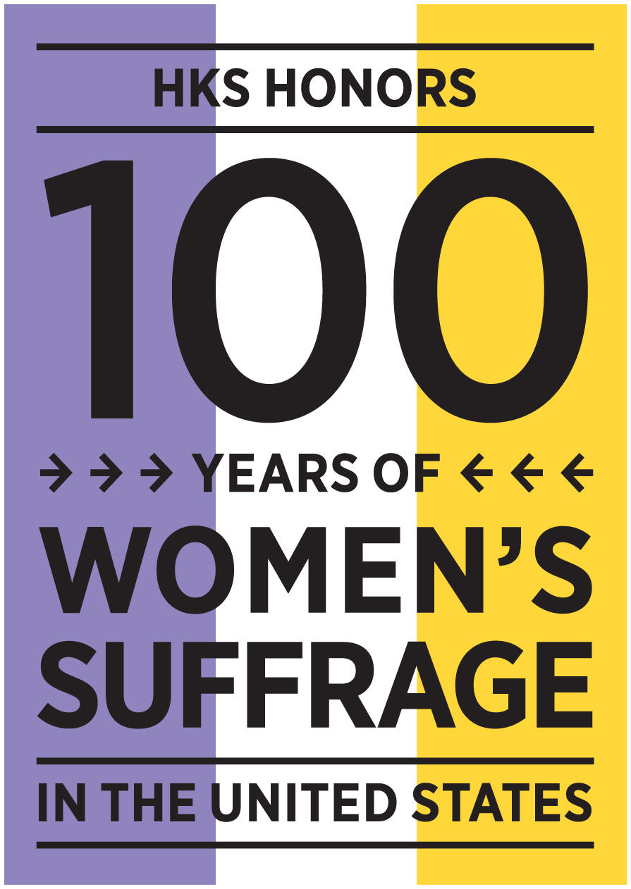 100th anniversary of suffrage logo