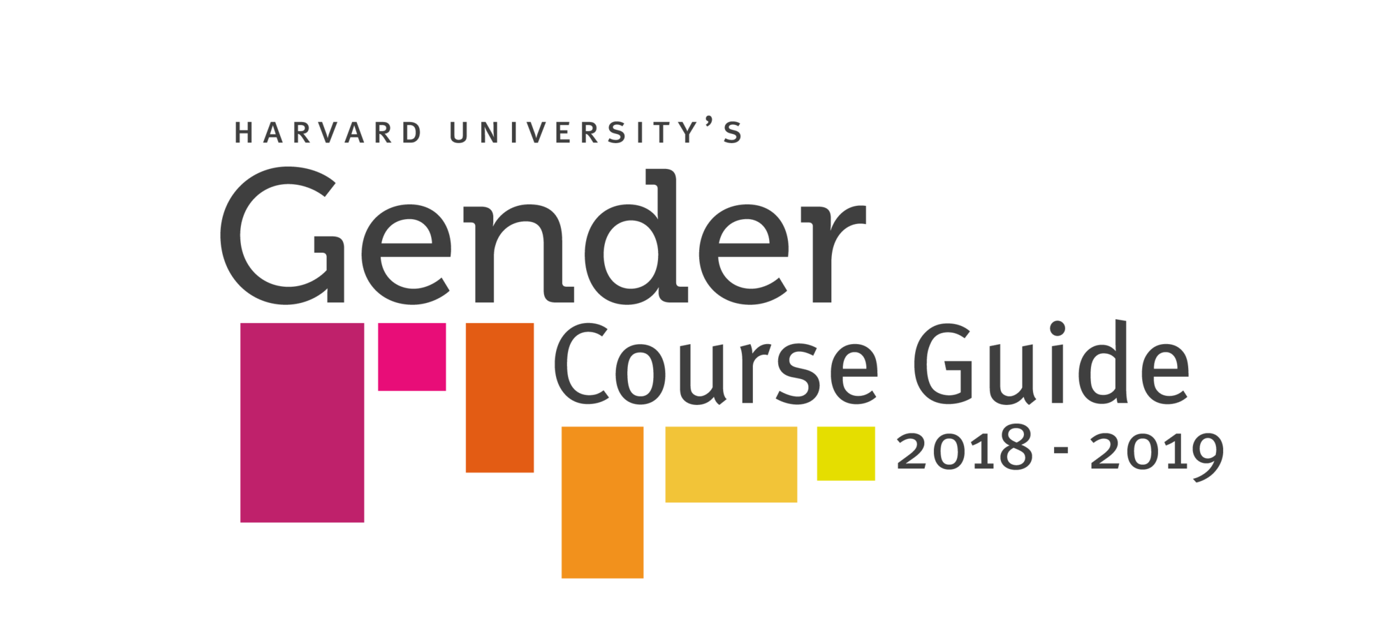 Harvard Gender Course Guide 2018-2019