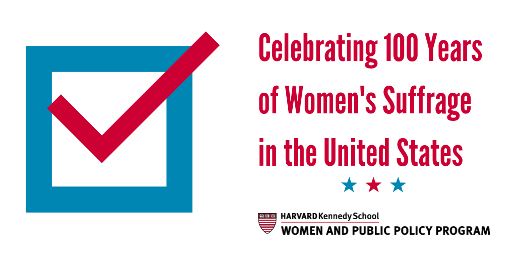HKS Women's Suffrage Celebration