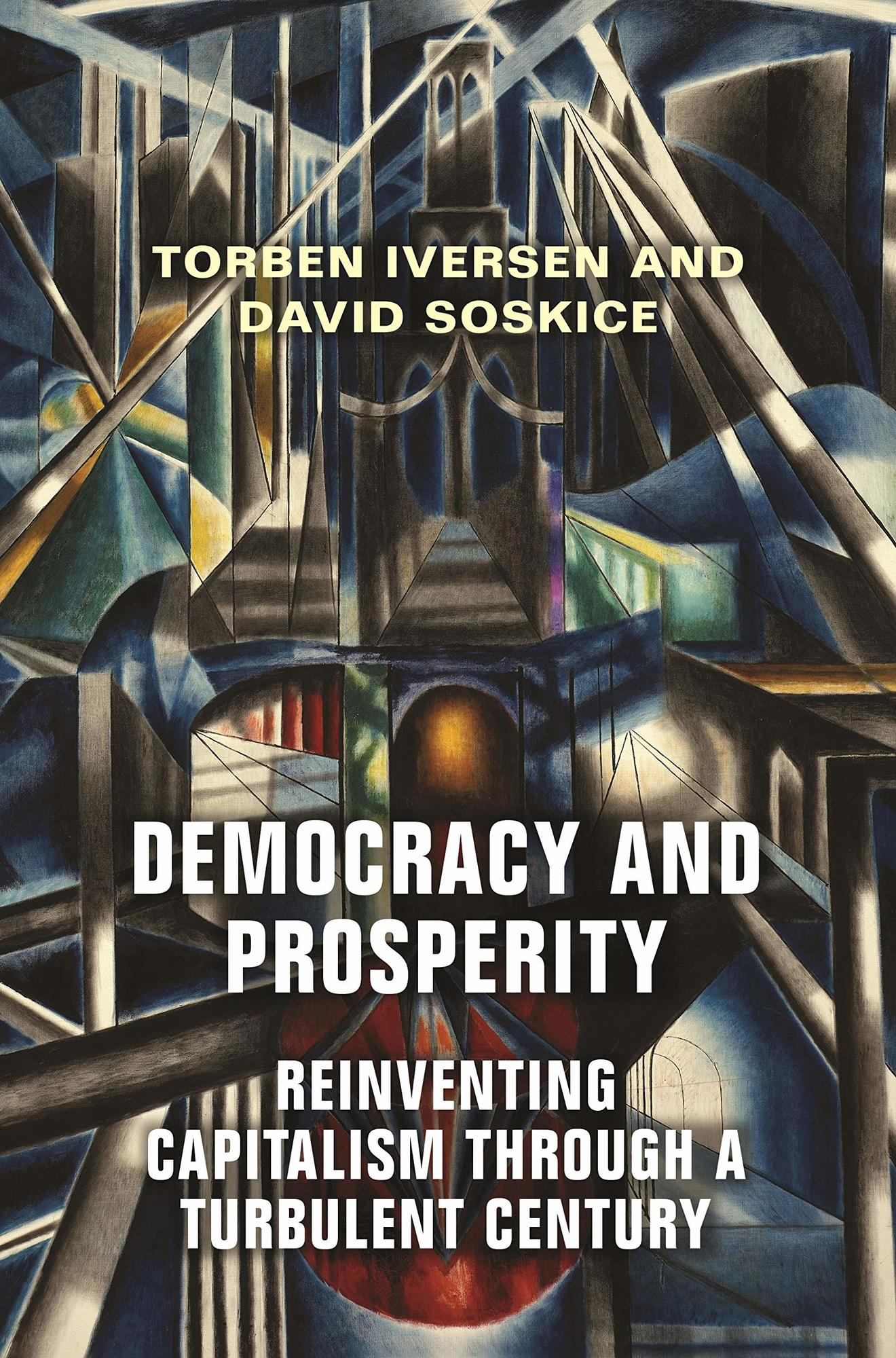 Book cover for Democracy and Prosperity