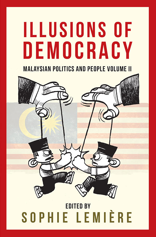 Image of book cover of Illusions of Democracy