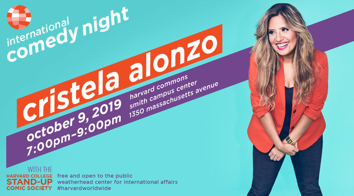 Poster of International Comedy Night with Cristela Alonzo