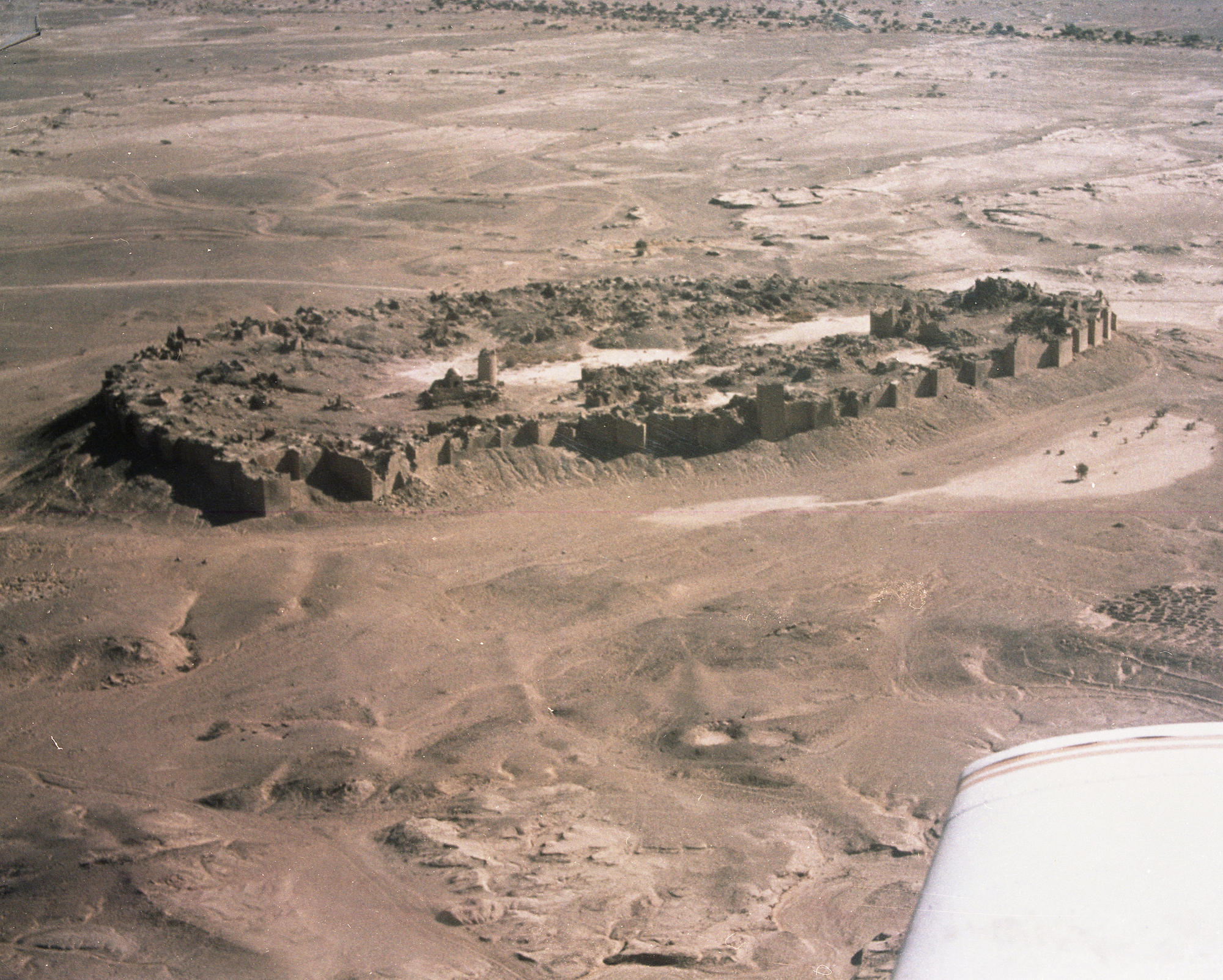 Aerial view of Baraqish