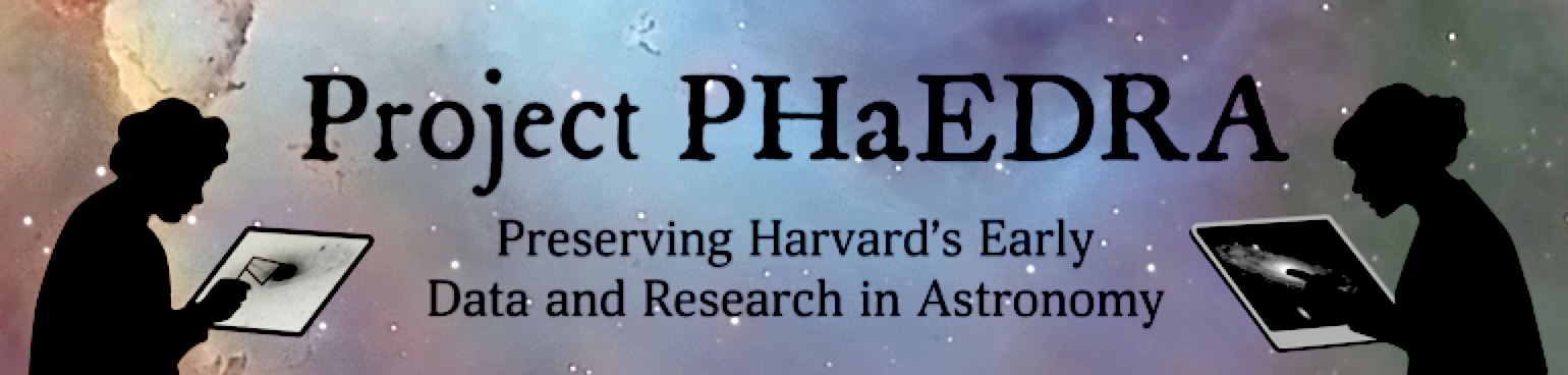 PHaEDRA Logo with colorful Hubble image background