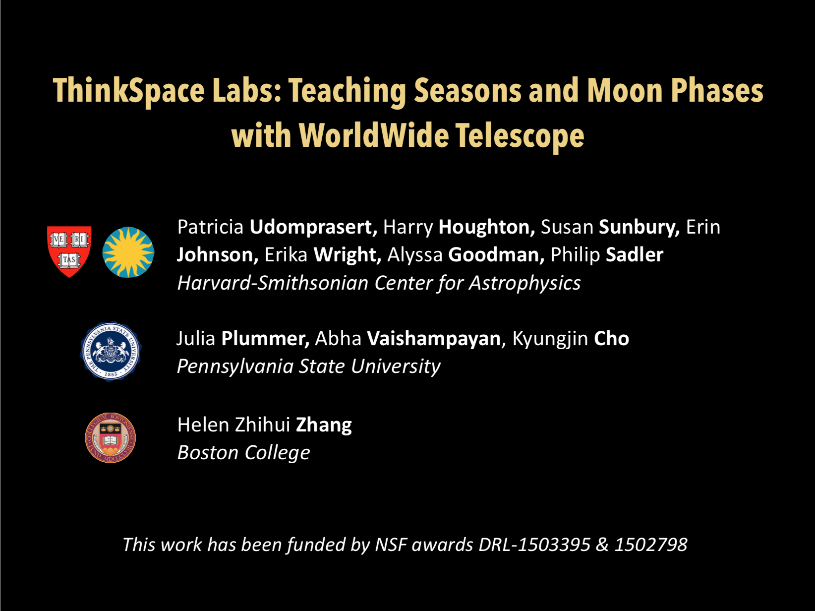 2019 AAS ThinkSpace Labs Presentation