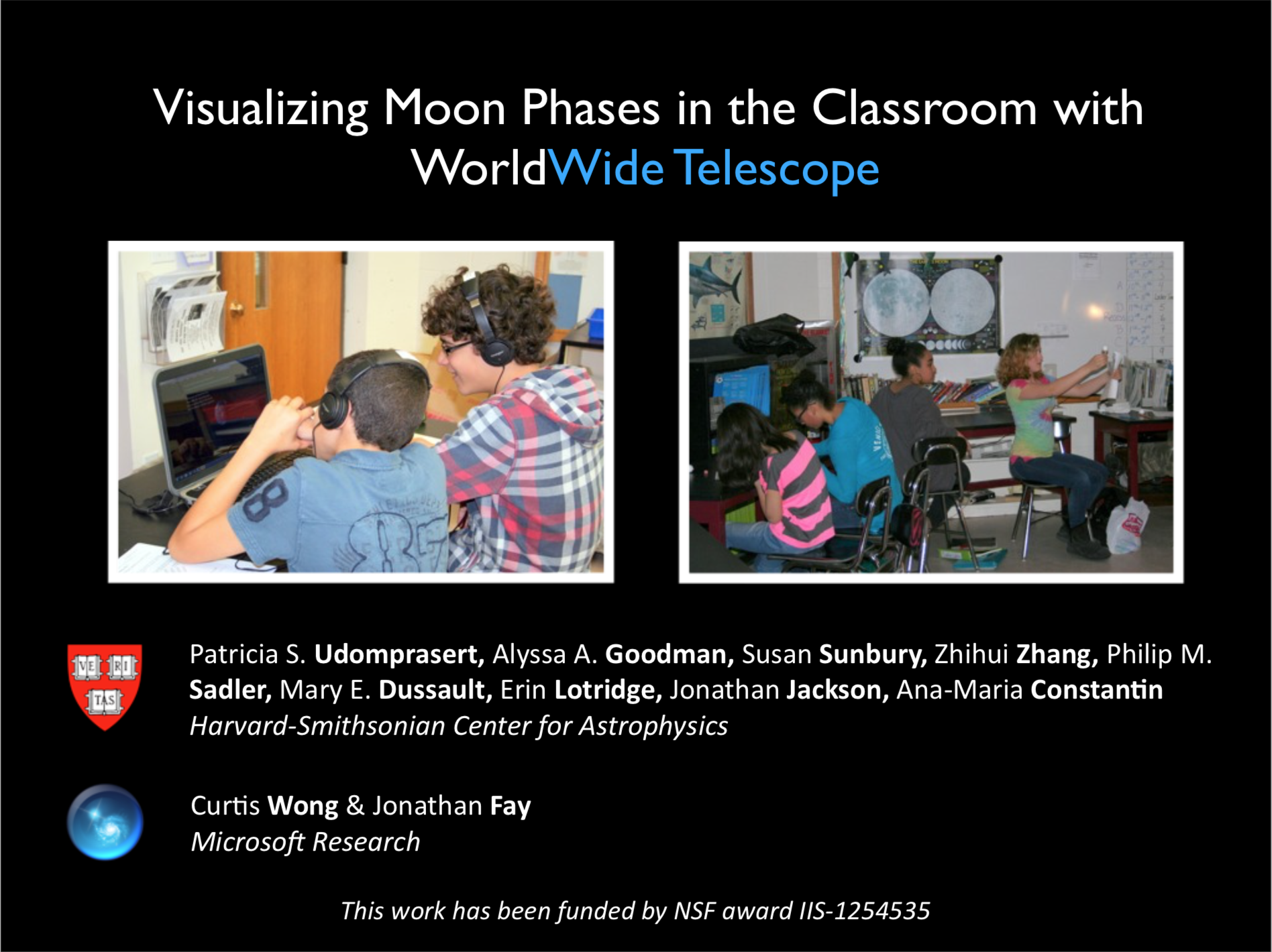 2014 Visualizing Moon Phases presentation