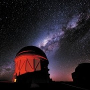 The Dark Energy Survey at the Cerro Tololo Inter-American Observatory in Chile is mapping the large-scale structure of the Universe traced by galaxies.