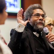 Professor Cornel West participates in the celebration of International Roma Day
